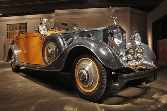 Мандатасин Жадея, внук махараджи Раджкота — Rolls Royce Star of India 1934 года выпуска