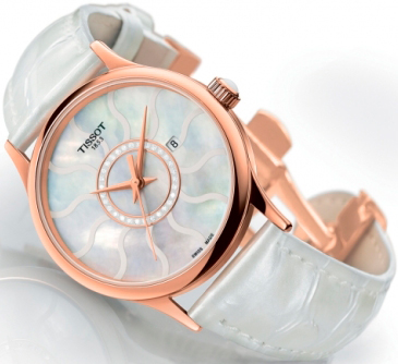 Новые дамские Rose Dream Gold от Tissot
