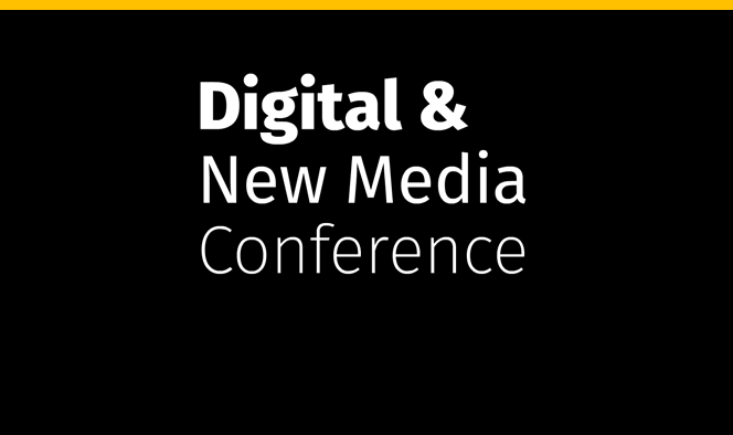 Digital & New Media Conference