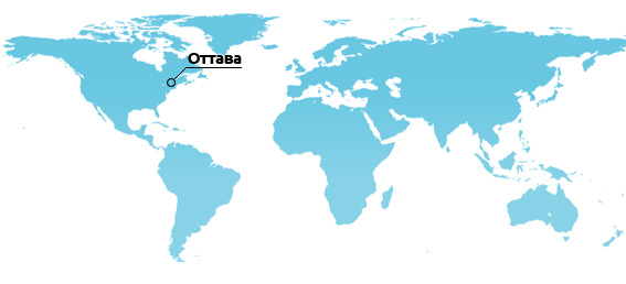 WORLD MAP Ottawa