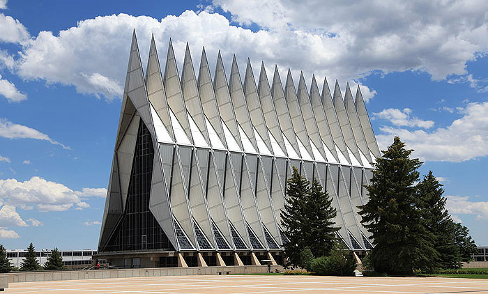 Air-Force-Academy-Chapel-Colorado-Usa