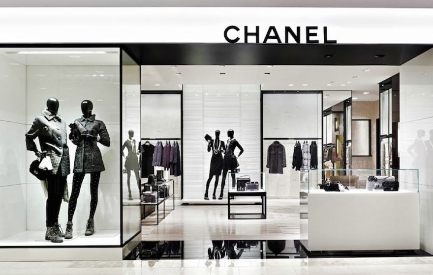 Chanel Retail Accessories Store at Fashion Show Mall Inside Neiman Marcus