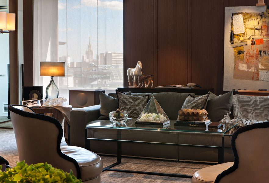 Ararat-Park-Hyatt-Moscow-Penthouse-Living-Room-Decor